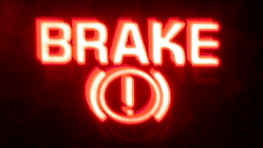 Hydraulic Brake Warning Light